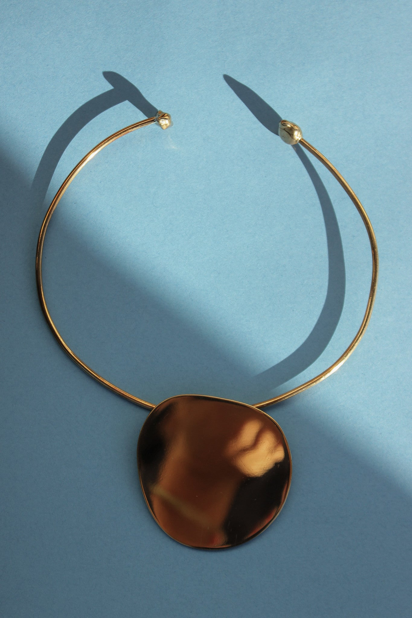 Pendo Collar in Bronze