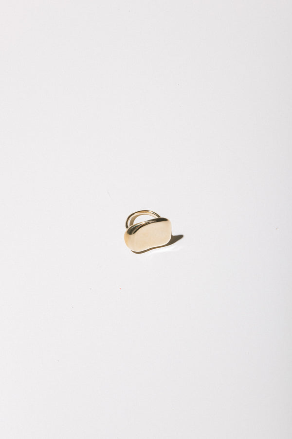 Faris Mid Dip Ring in Bronze