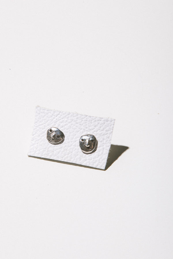Street Life Studs in Silver