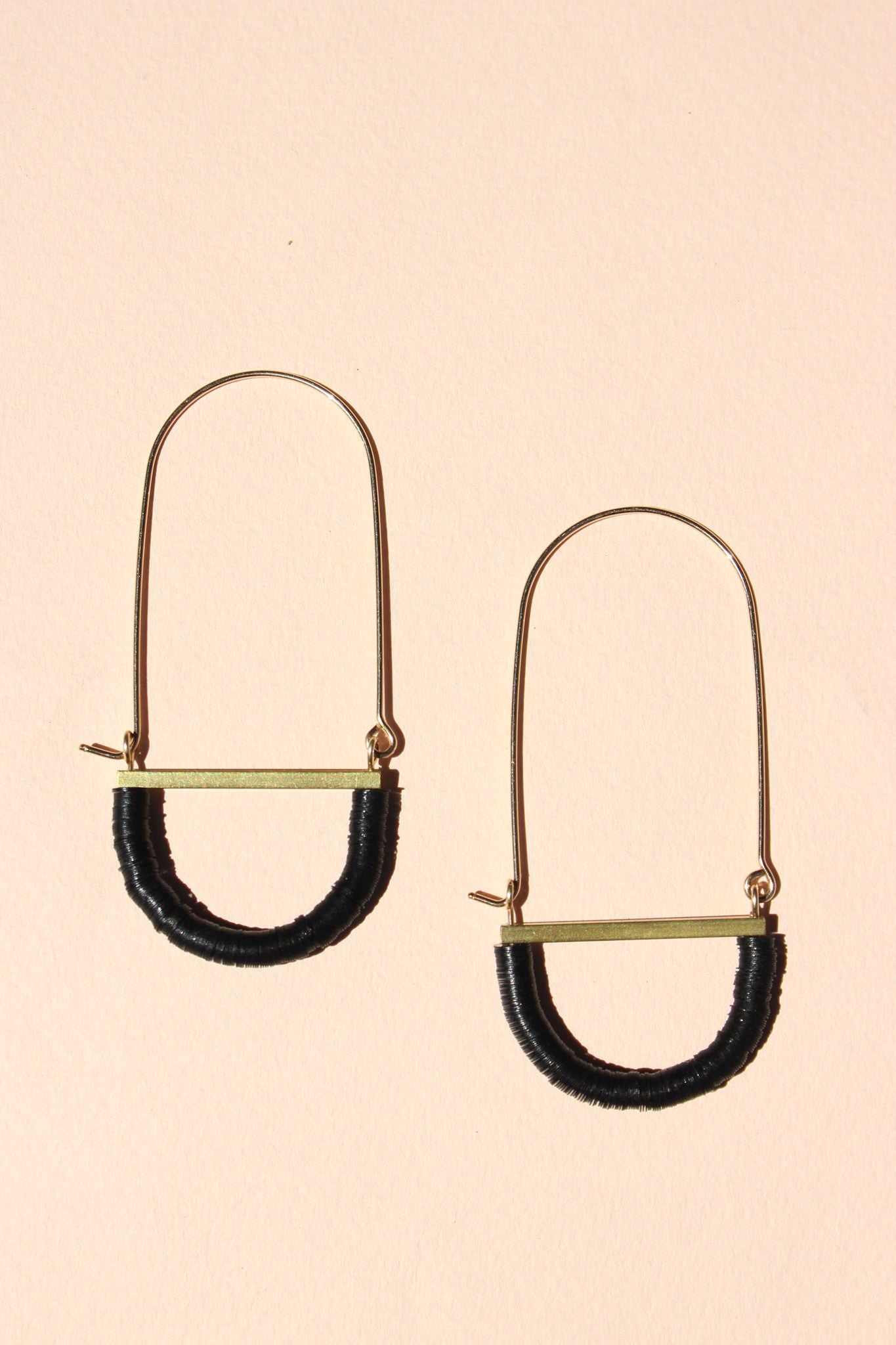 Adamo Earrings in Black