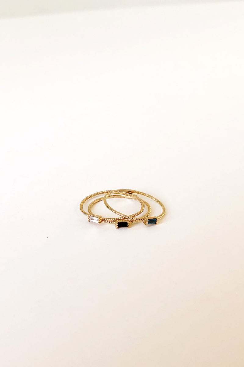 Golden Grace Twist Ring