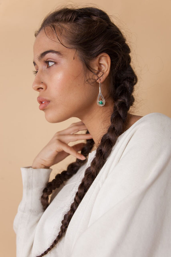 Rhea Drop Earrings