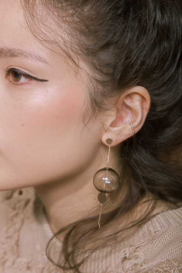 Glassy Orbit Earrings