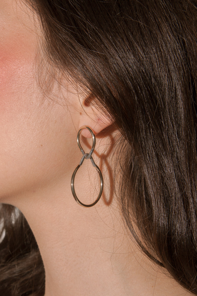 Double Chained Earrings
