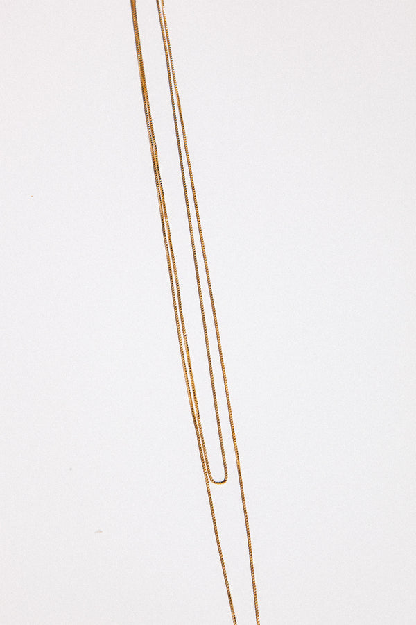 14k Gold Fill Box Chain