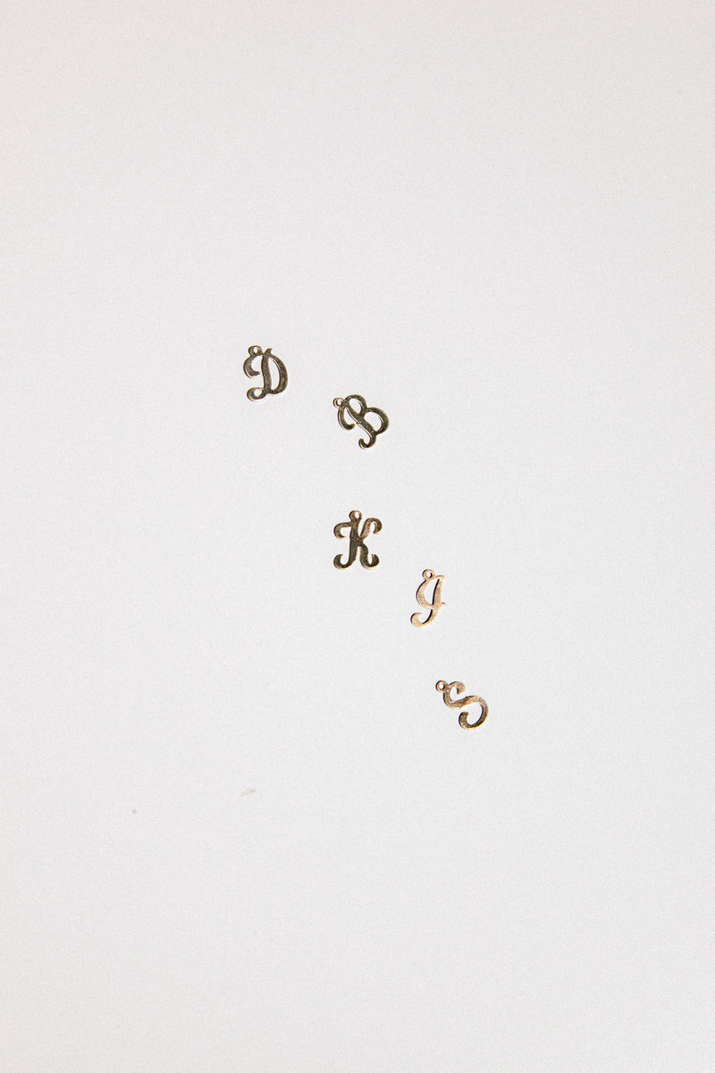 Diary Alphabet Necklace