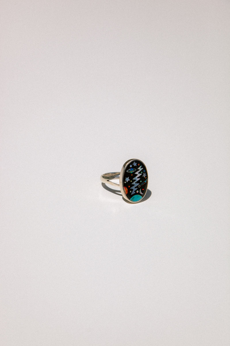 Space Energy Inlay Ring