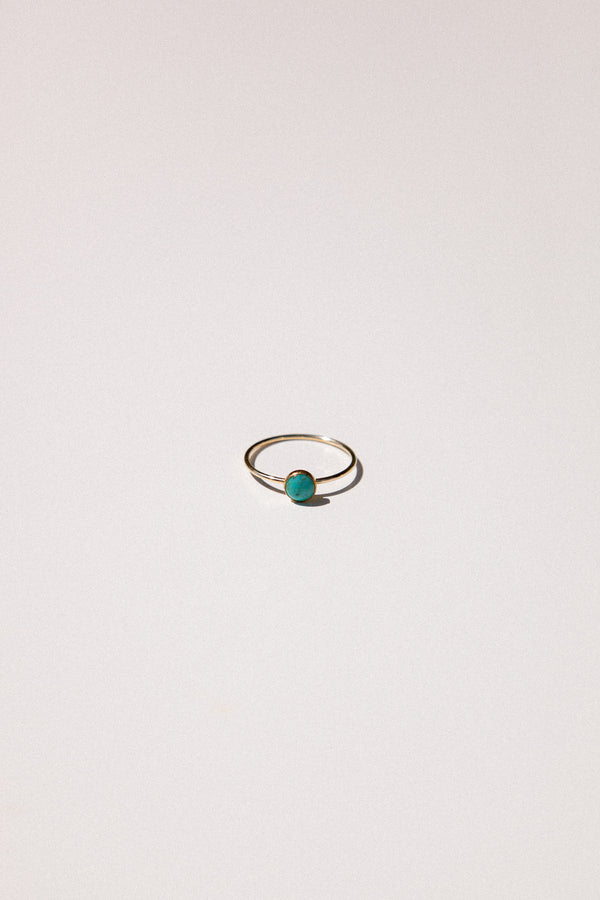 Large Gemstone Bezel Ring (5mm)