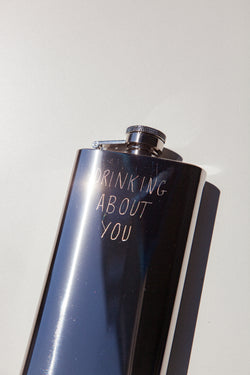 Drinking About You Flask