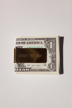Johnny Cash Only Money Clip