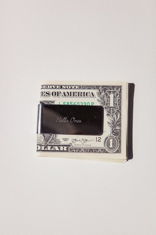 Hella Ones Money Clip