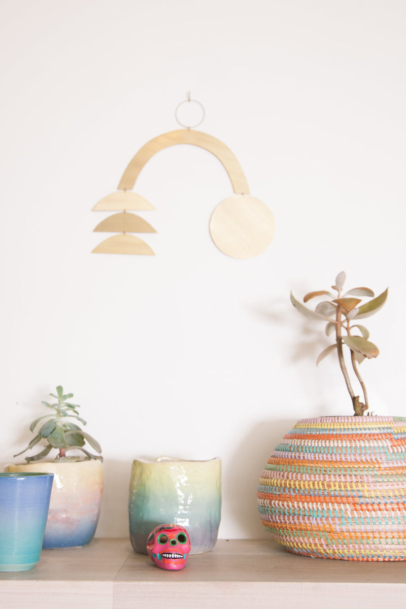 Iria Brass Wall Hanging