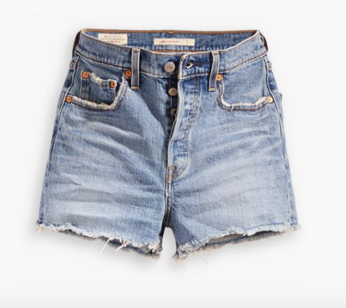 Ribcage Shorts in Urban Oasis (New Levi's)