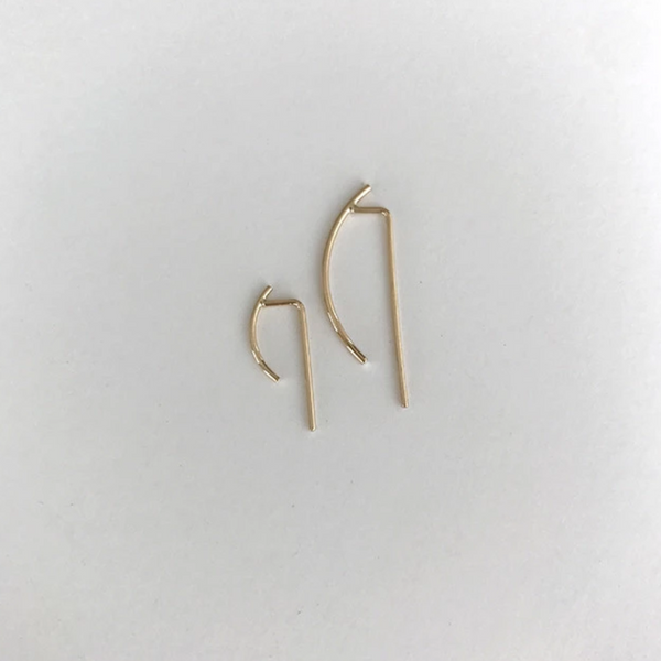 Ear Hook in 14k Yellow Gold