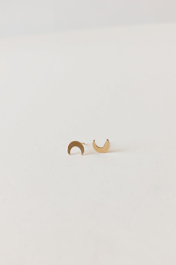 14k Shape Stud (Single)