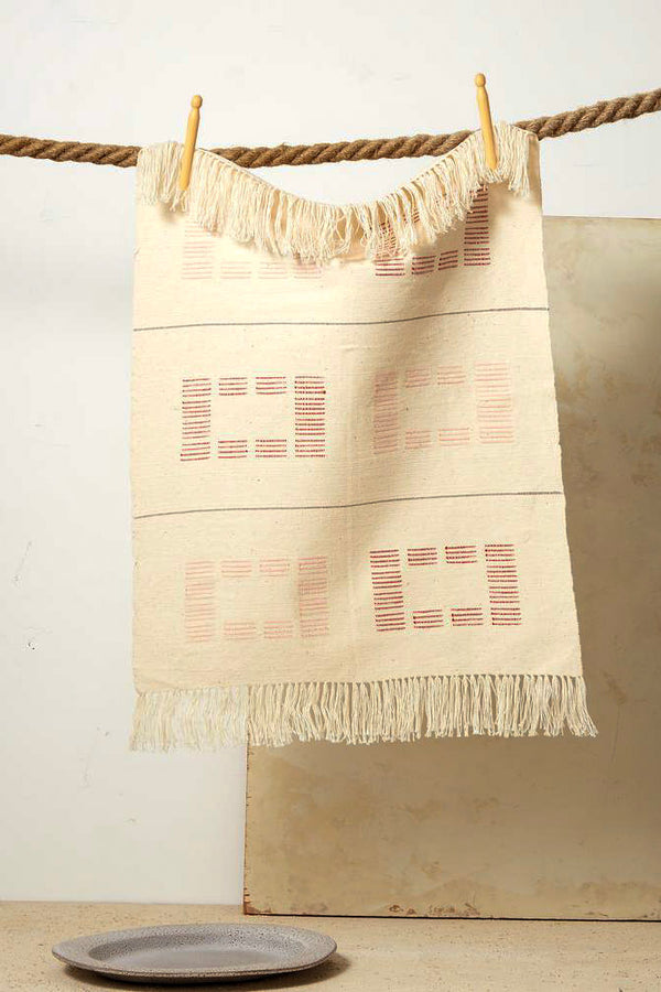 Blocks Tea Towel