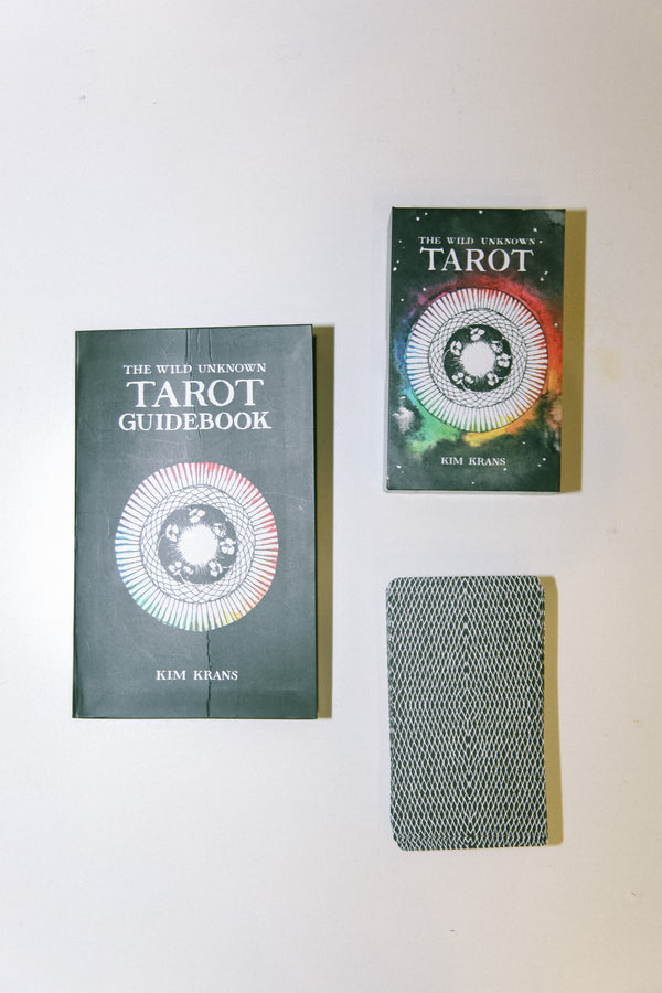 Wild Unknown Tarot Deck + Book Set