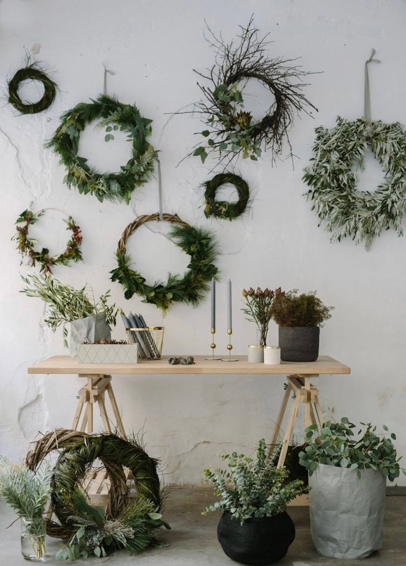 Winter Wreath Workshop: Monday, 12/9