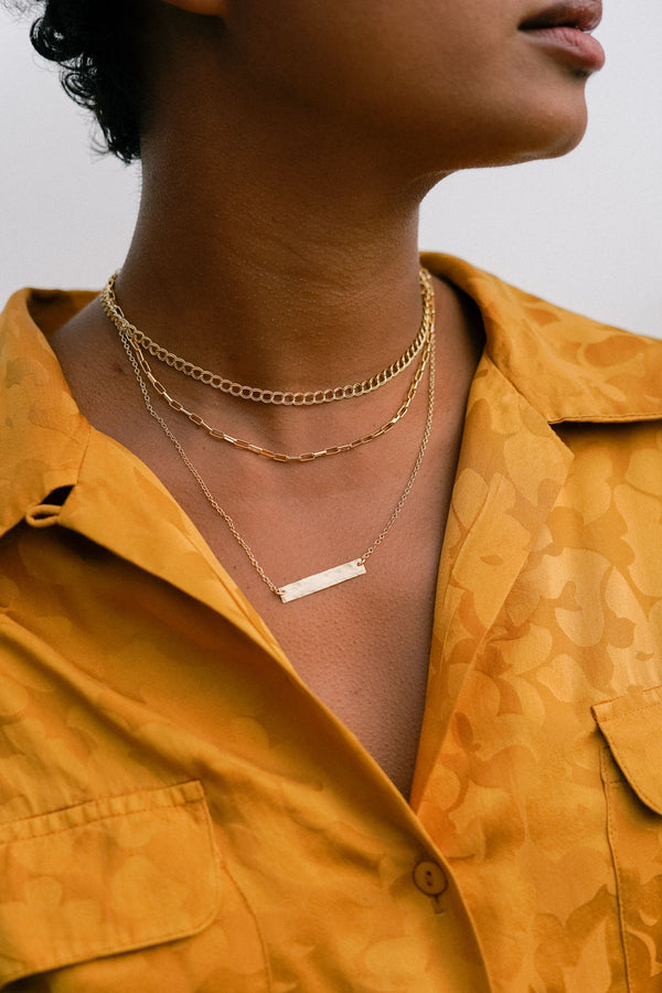 Biggie Bar Necklace