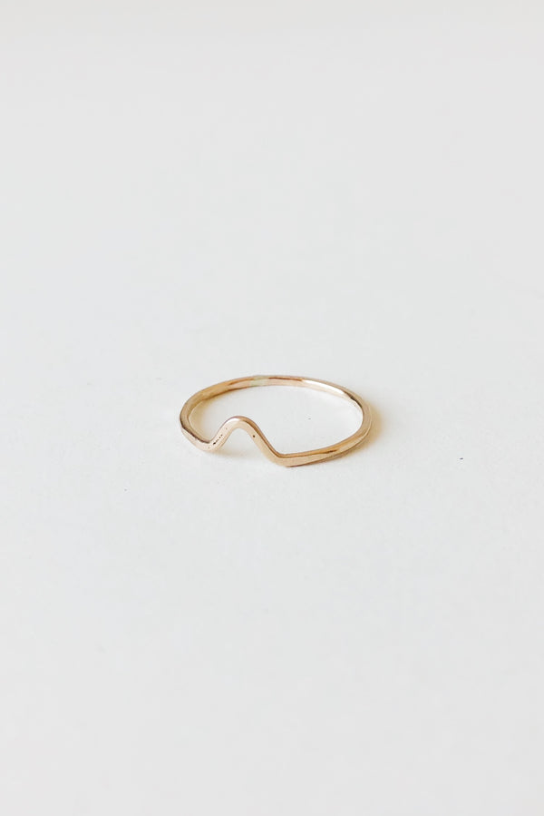 Hammered Peak Ring