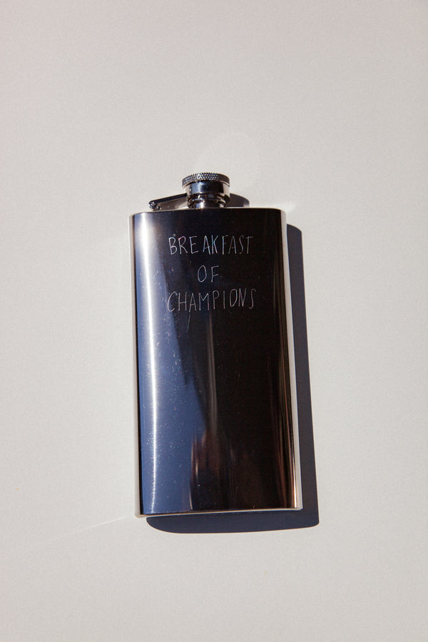 Breakfast of Champions Flask