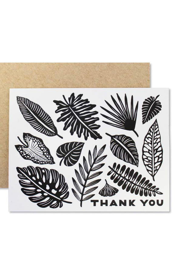 Thank You Leaves Cards- Singles