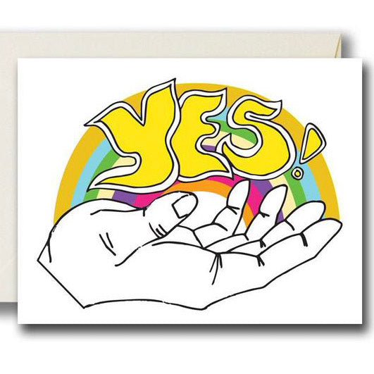 Rainbow YES Card