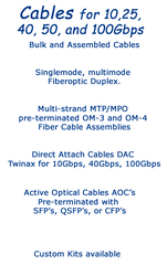 Cables - Bulk and Assembled - Standard and Custom