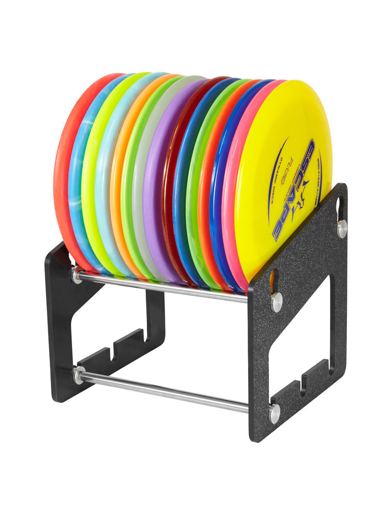 Zuca Disc Golf Compact Cart Accessory - Disc Golf Rack - 1010 Discs