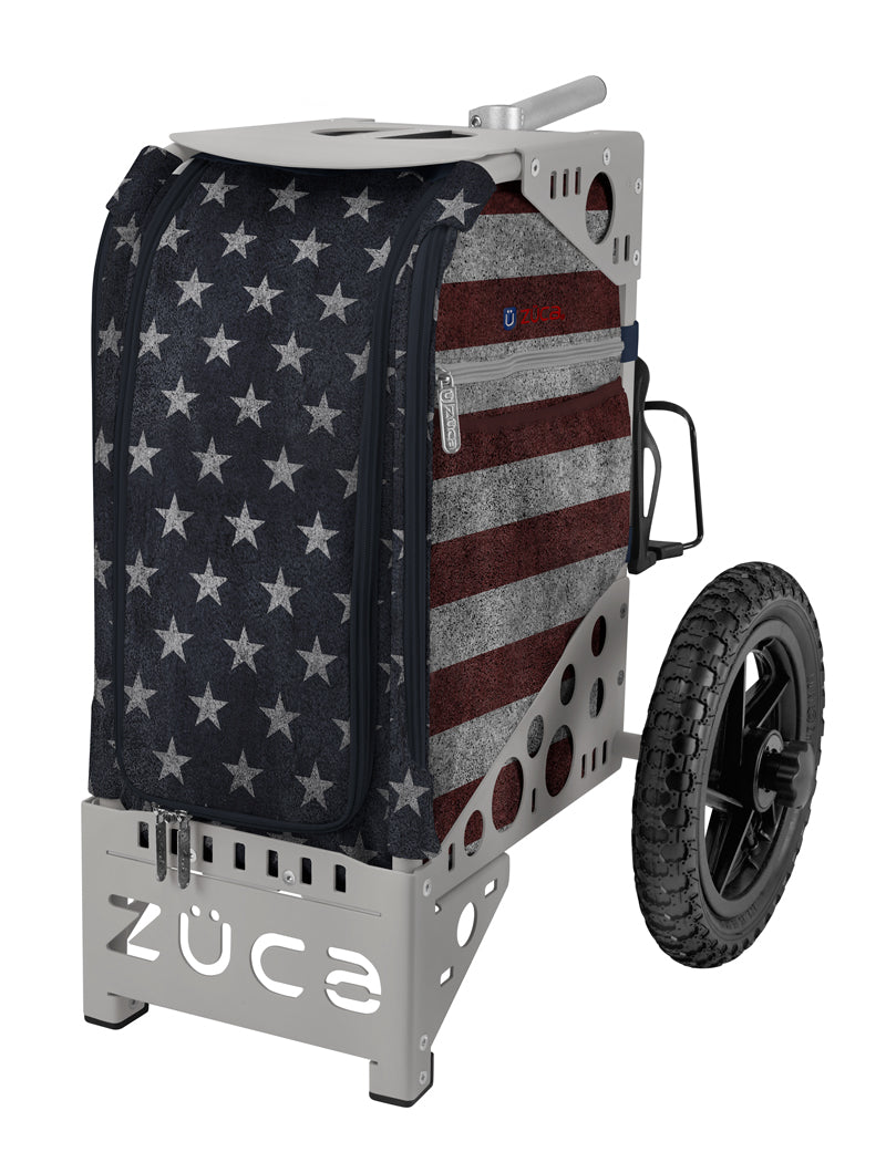Zuca Disc Golf Cart Old Glory Combo - 1010 Discs