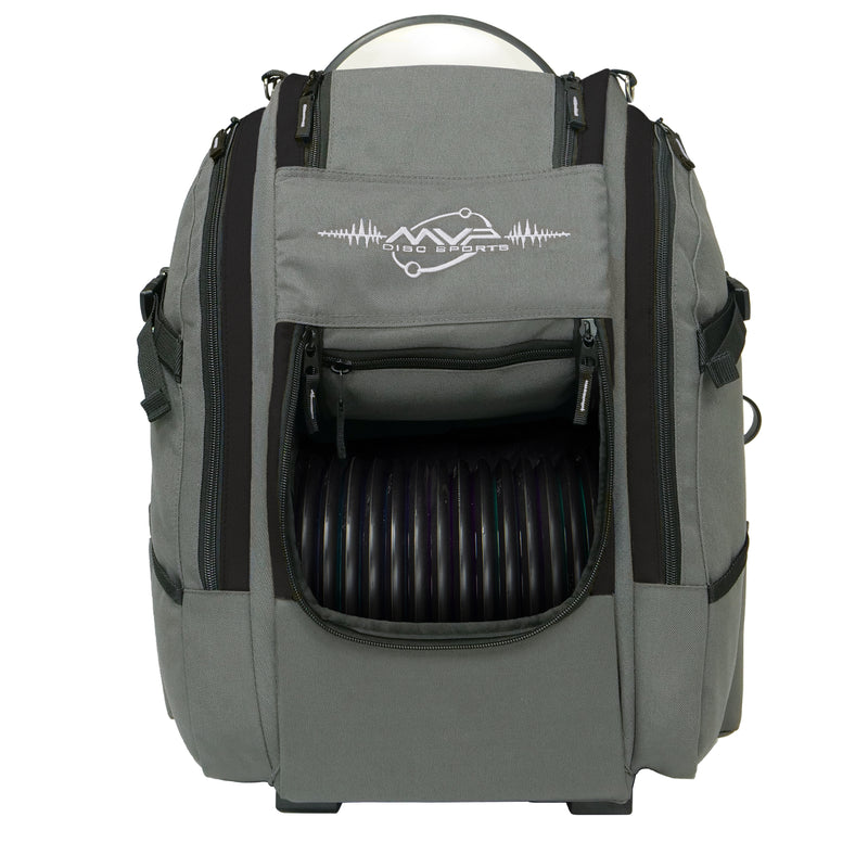MVP Voyager Slim V2 Disc Golf Backpack Bag - 1010 Discs