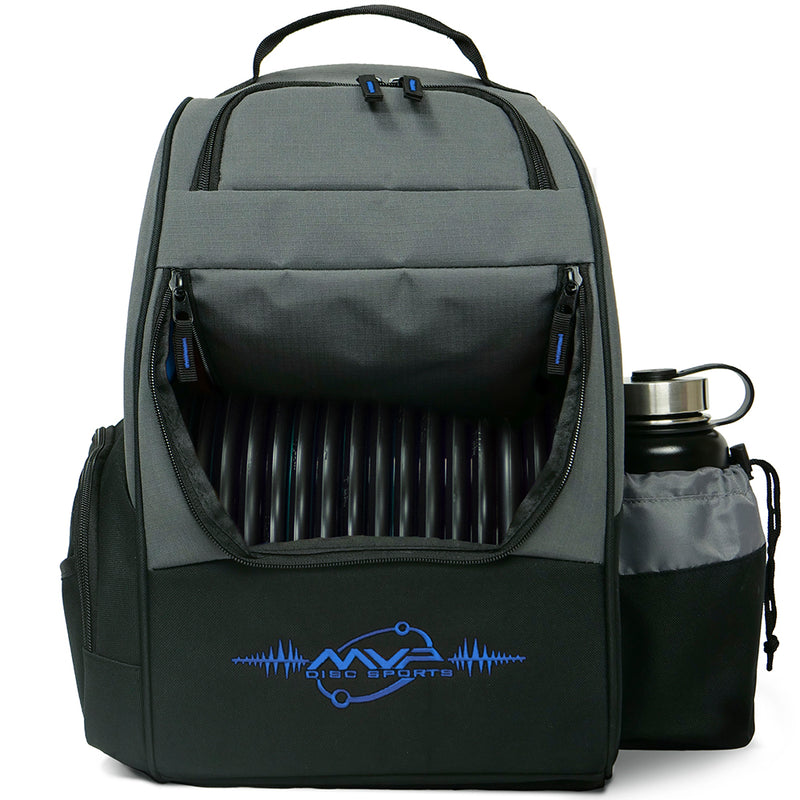 MVP Shuttle Disc Golf Backpack Bag - 1010 Discs