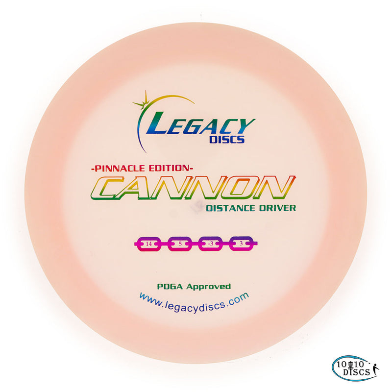 Legacy Cannon Understable Distance Driver - 1010 Discs