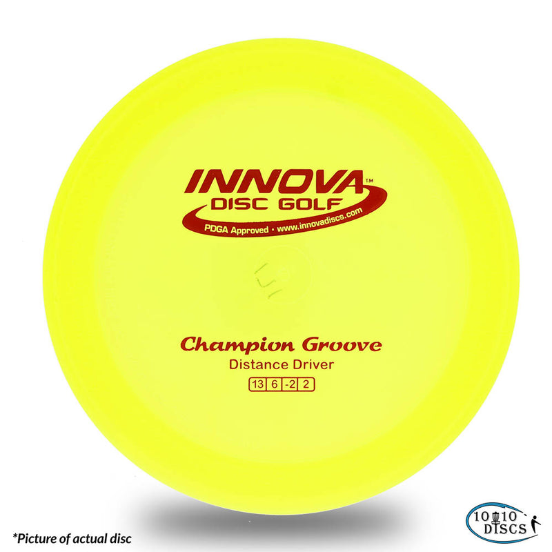 Innova Groove Overstable Distance Driver - 1010 Discs