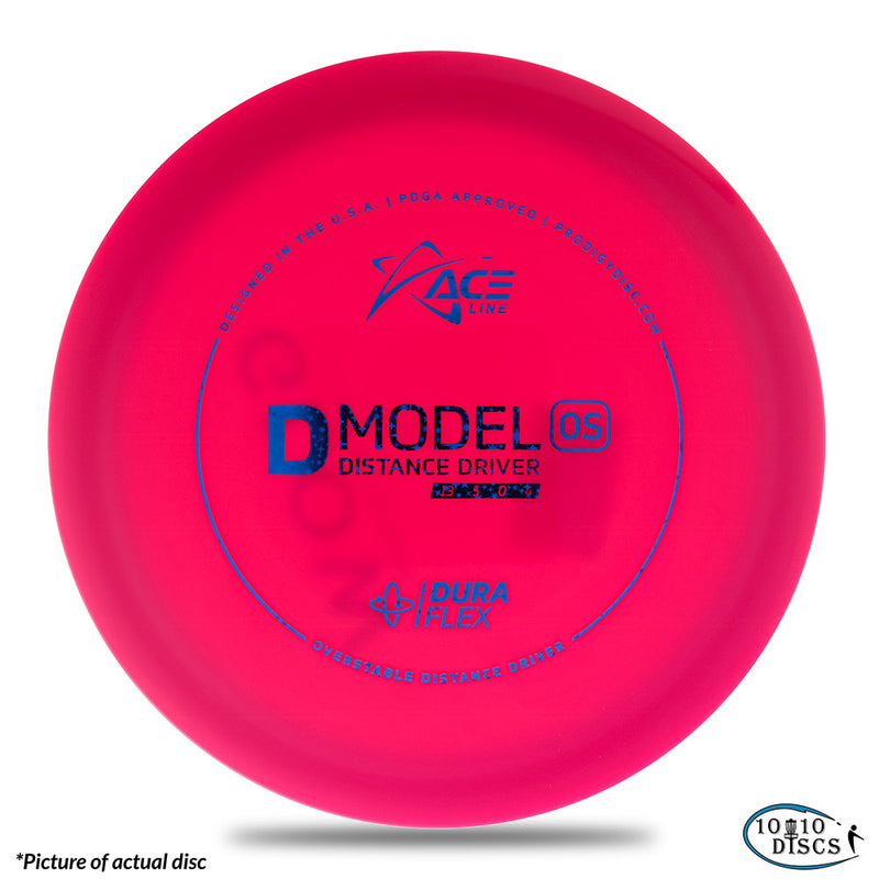 Prodigy ACE Line D Model OS Overstable Distance Driver - 1010 Discs