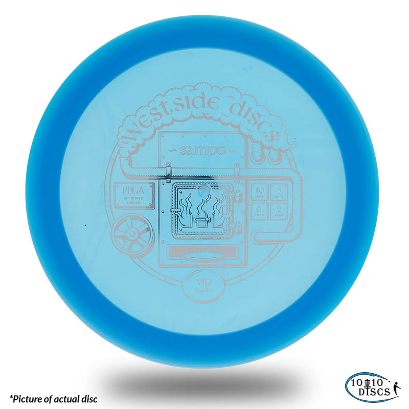 Westside Sampo Overstable Distance Driver - 1010 Discs