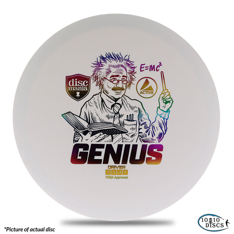 Discmania Active Genius Understable Fairway/Control Driver
