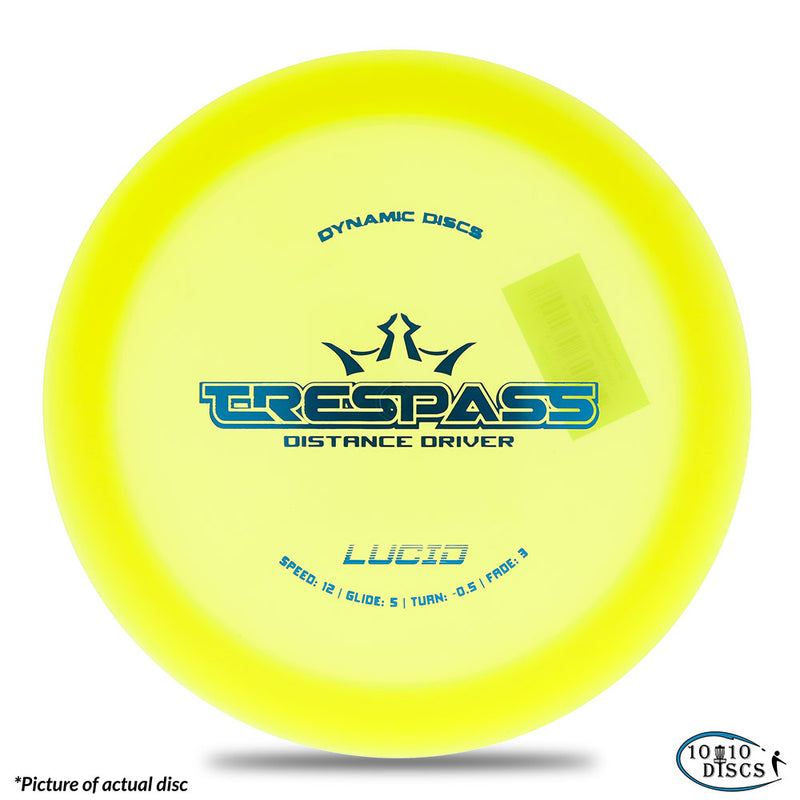 Dynamic Discs Trespass Overstable Distance Driver