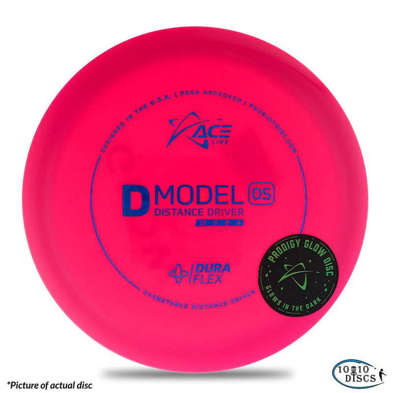 Prodigy ACE Line D Model OS Overstable Distance Driver