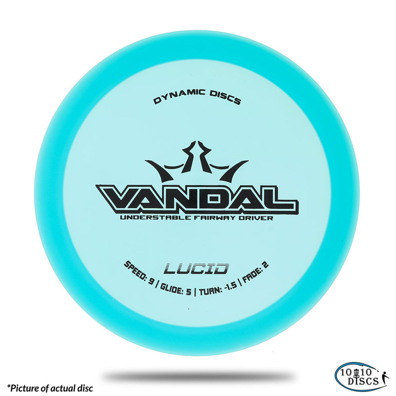 Dynamic Discs Vandal Stable Fairway/Control Driver