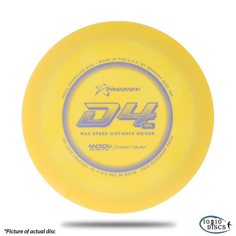Prodigy Disc D4 Max Understable Distance Driver