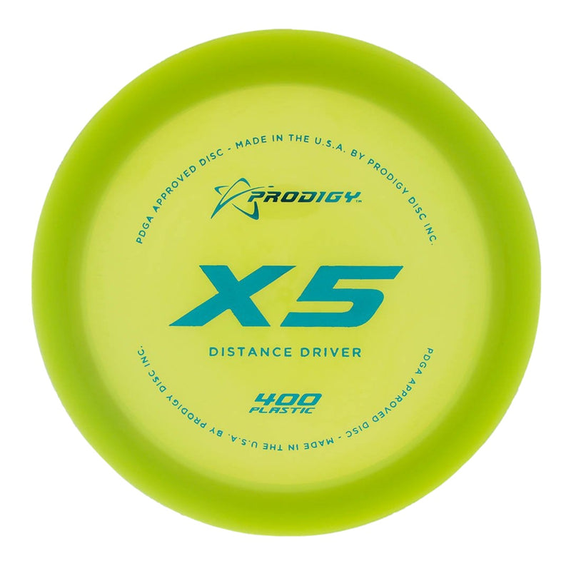 Prodigy Disc X5 Understable Distance Driver - 1010 Discs