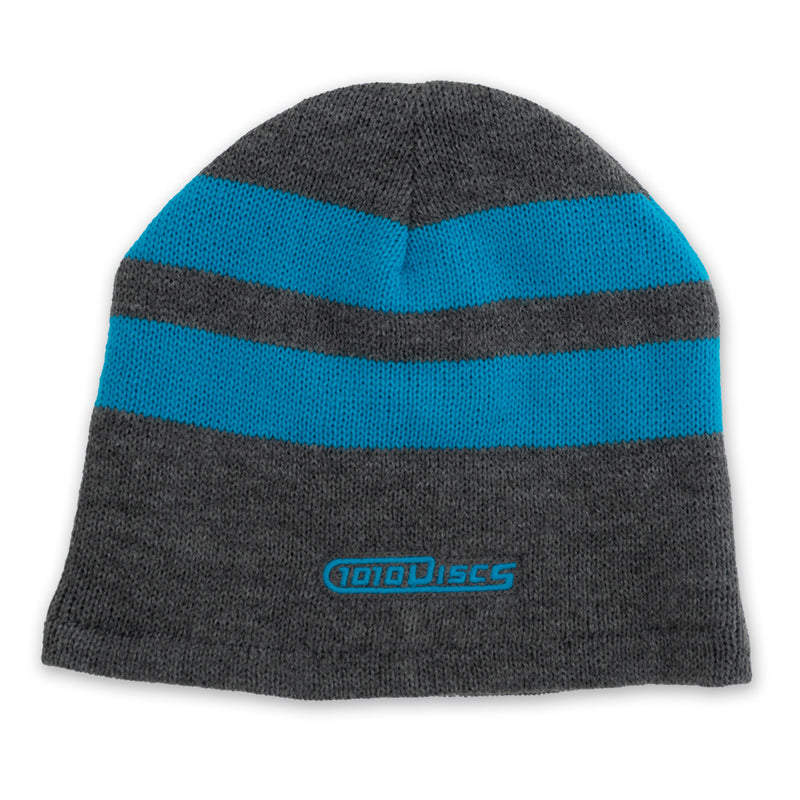 1010 Discs Port & Company Fleece Lined Striped Beanie
