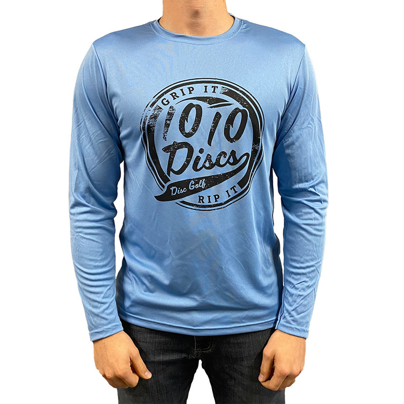 1010 Discs Grip It Dri-Fit Long Sleeve T-Shirt