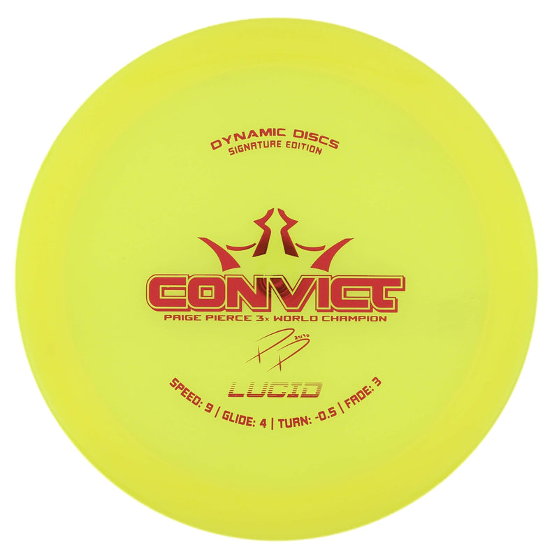 Dynamic Discs Convict Overstable Fairway/Control Driver - 1010 Discs