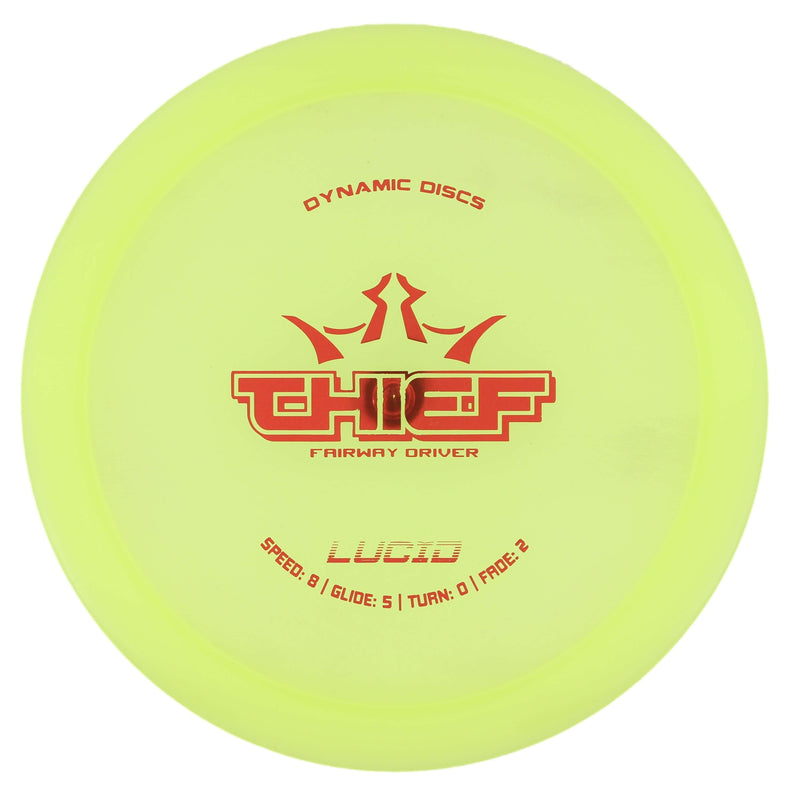 Dynamic Discs Thief Stable Fairway/Control Driver - 1010 Discs
