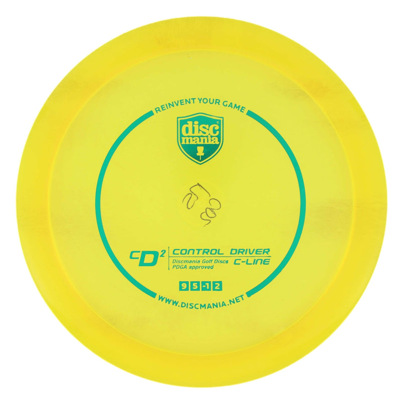 Discmania CD2 Stable Fairway/Control Driver - 1010 Discs