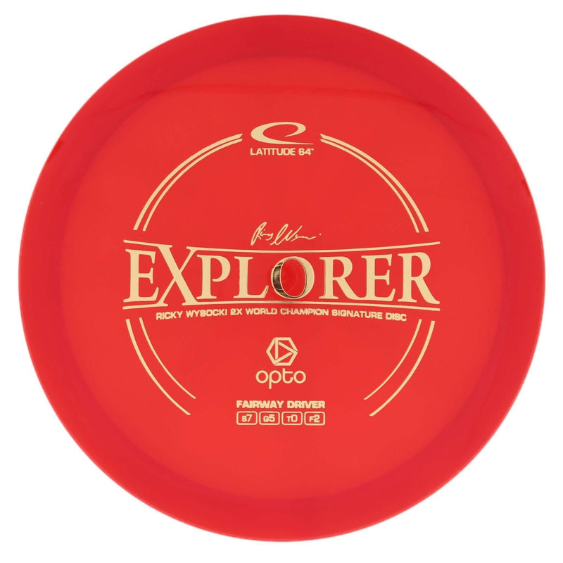 Latitude 64 Explorer Stable Fairway/Control Driver - 1010 Discs