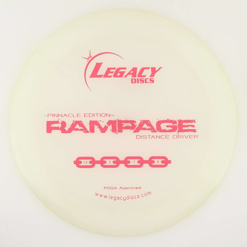 Legacy Rampage Overstable Distance Driver - 1010 Discs