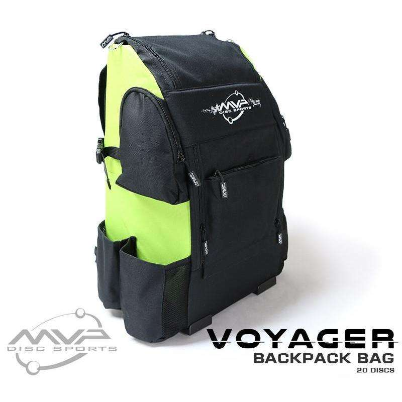 MVP Voyager Disc Golf Backpack Bag - 1010 Discs